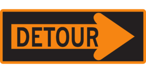 Pardon the Detour – It's Worth It!